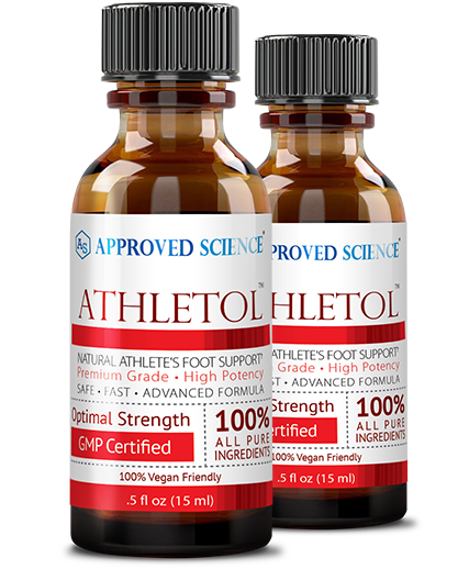 Athletol ingredients bottle